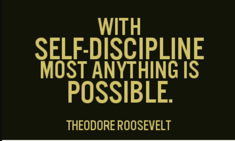 essays on self discipline